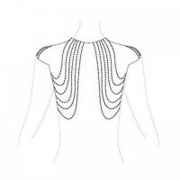 Бикини-цепочка Bijoux Magnifique Chain Shoulders Back Jewelry Gold золотая