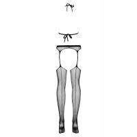 Минималистичный черный боди-комбинезон S/L
