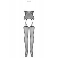 Элегантный боди-комбинезон с необычным геометрическим узором S/L