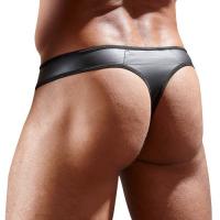 Мужские стринги с прозрачной вставкой XL