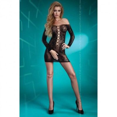 Черное кружевное платье Destinee S/L