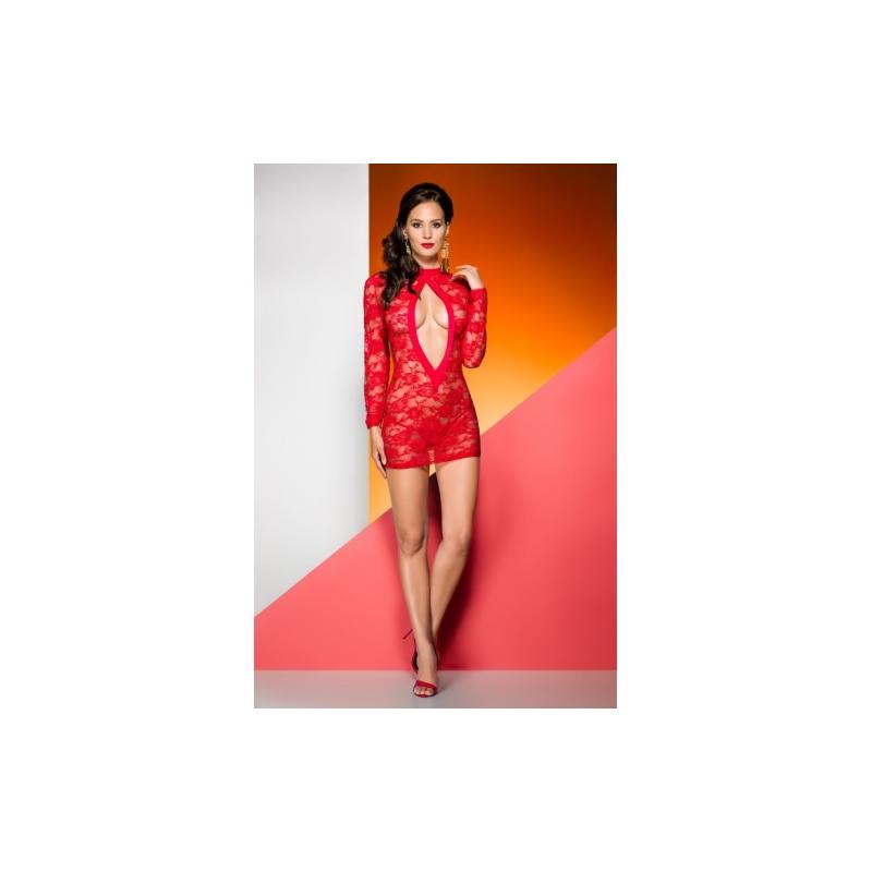 Красная сорочка Rayen L/XL