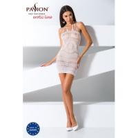 Прозрачное платье белого цвета, BS063, размер S/L