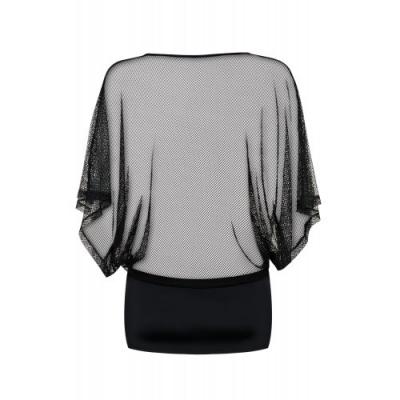 Эротичное черное платье и трусики-стринги Punker L/XL
