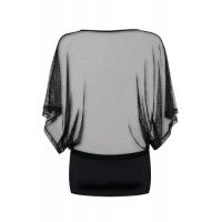Эротичное черное платье и трусики-стринги Punker S/M