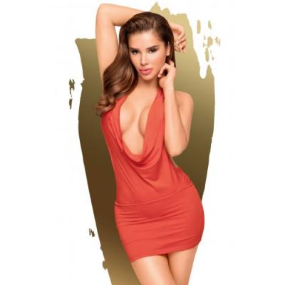 Красное мини-платье с глубоким вырезом Penthouse Heart Rob S/M