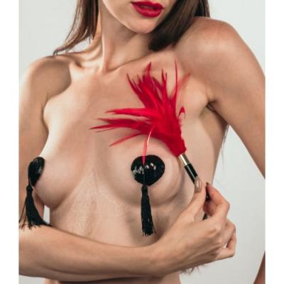 Пэстисы с кисточками Burlesque Gipsy черные