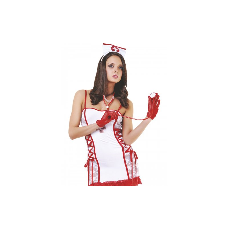 Эротический костюм медсестры M/L