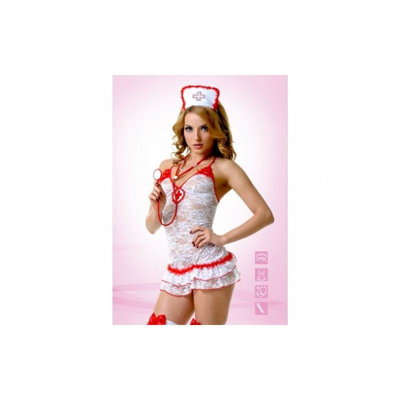 Костюм Медсестры кружевной XL/XXL