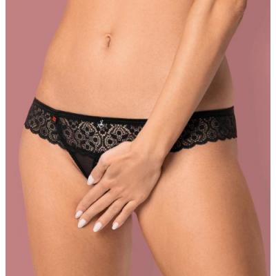 Сексуальные стринги с доступом Shibu Crotchless Thong L/XL