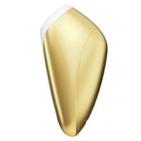 Вакуумно-волновой стимулятор клитора Satisfyer Love Breeze золотой