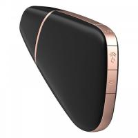 Бесконтактный стимулятор клитора Satisfyer Love Triangle с управлением через смартфон черный