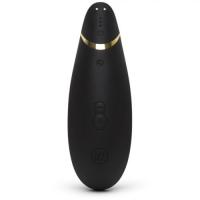 Бесконтактный вакуумно-волновой стимулятор клитора Womanizer Premium черный
