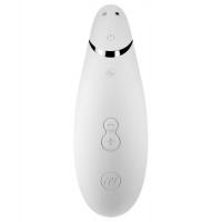Бесконтактный вакуумно-волновой стимулятор клитора Womanizer Premium белый
