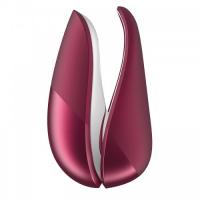 Бесконтактный вакуумно-волновой стимулятор клитора Womanizer Liberty красный