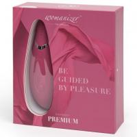 Бесконтактный вакуумно-волновой стимулятор клитора Womanizer Premium розовый