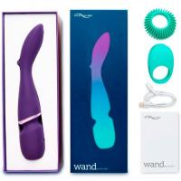 Вибромассажер We-Vibe Wand перезаряжаемый фиолетовый