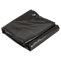 Виниловая простынь черная 200х230 см Lack-Laken soft