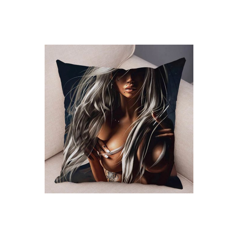 Наволочка на подушку Erotic Girl
