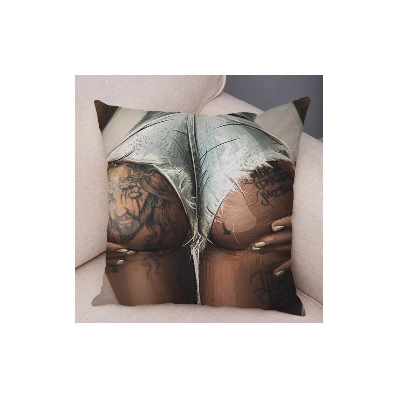 Наволочка на подушку Sexy Tattoing Ass