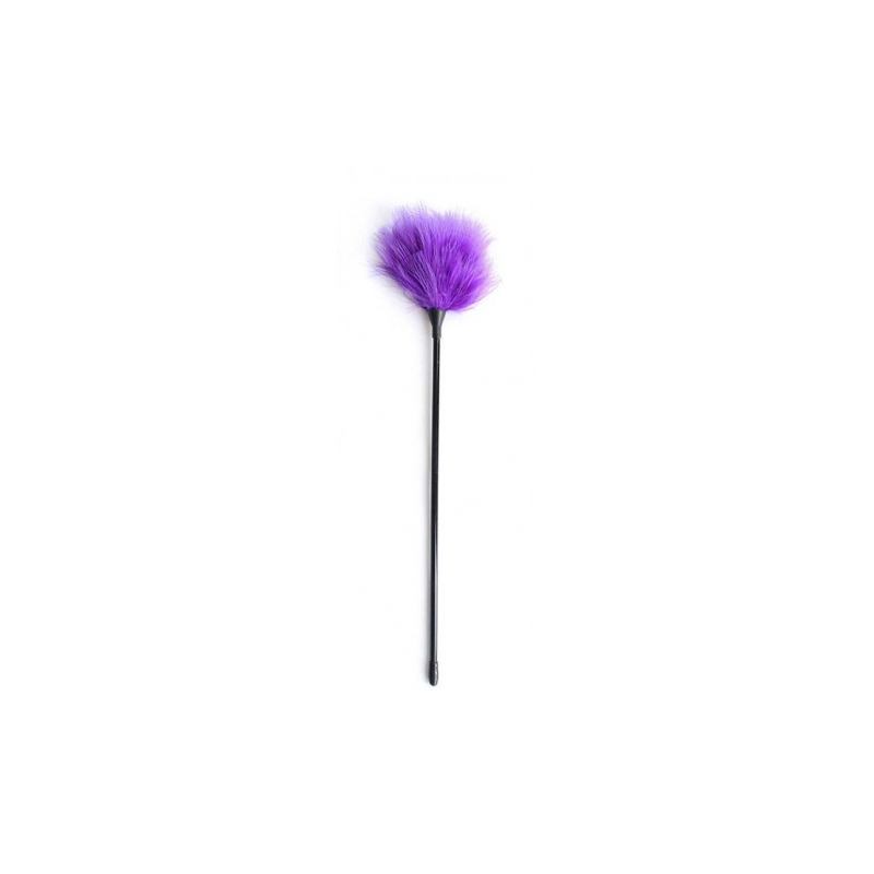 Фиолетовый перьевой тиклер