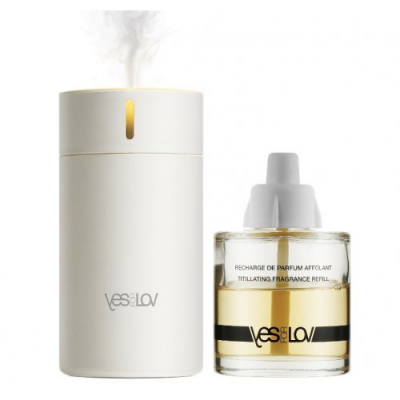 YESforLOV Комплект Ароматический диффузор + наполнитель с возбуждающим ароматом 50 мл