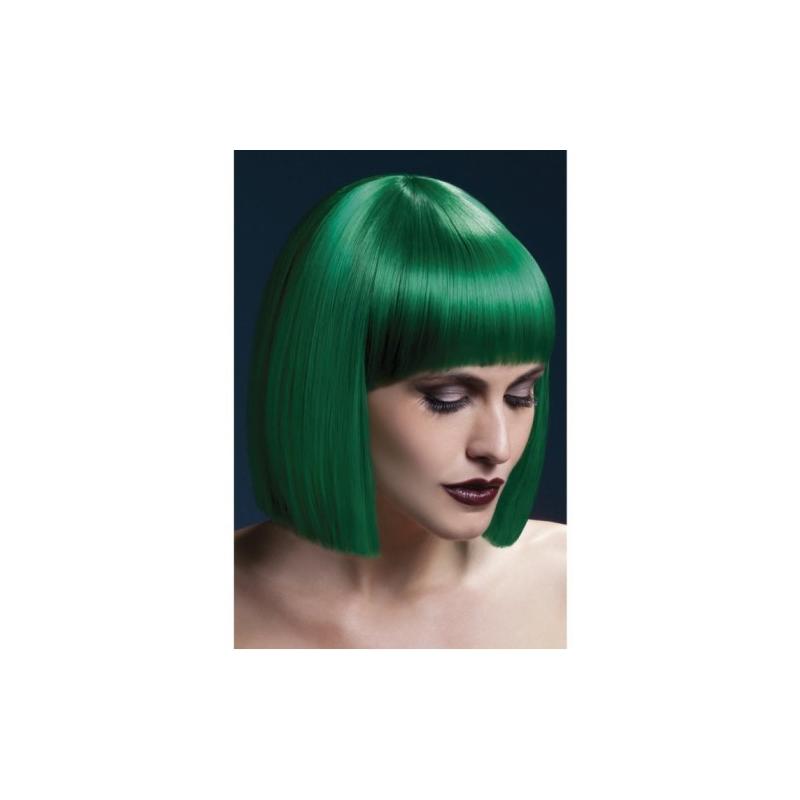 Парик зеленый Страстная Лола