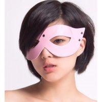 БДСМ маска розовая