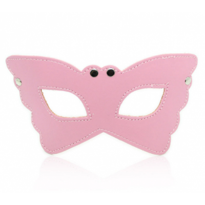 Розовая маска БДСМ