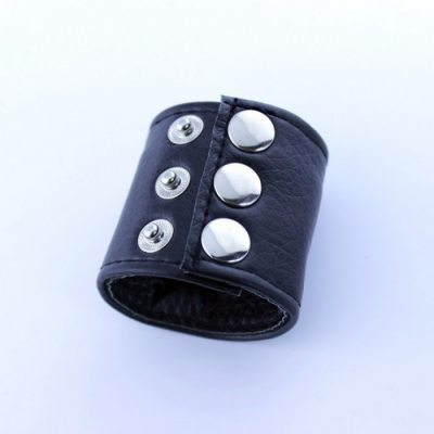 Хомут-утяжка для мошонки на заклепках
