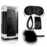 Набор Deluxe Bondage Kit (наручники, тиклер, маска на глаза)