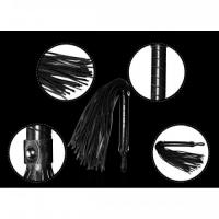 Набор Deluxe Bondage Kit (маска, вибростимулятор точки G, плеть, кляп-шар)