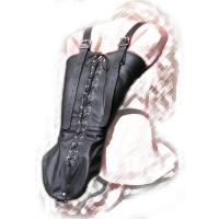 Бондажный армбиндер на шнуровке