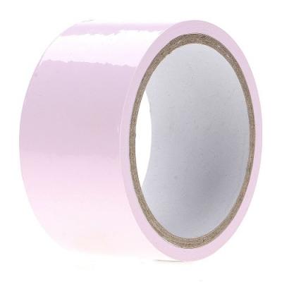 Лента для связывания светло-розовая 15 м