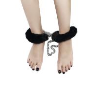 Поножи Fetish Pleasure Fluffy Leg Cuffs черные