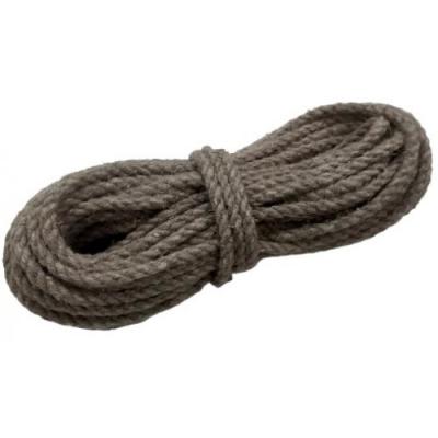 Веревка льняная крученая диаметр 8 мм, 10 м