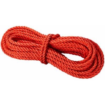 Веревка крученая полипропиленовая диаметр 6 мм, 15 м