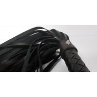 Шикарная кожаная плеть с шипами Hand Made