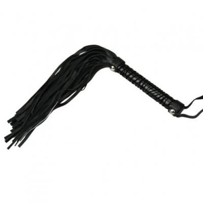 Мягкая плеть черная