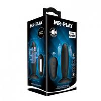 Классическая анальная пробка Mr.Play с вибрацией и дистанционным управлением