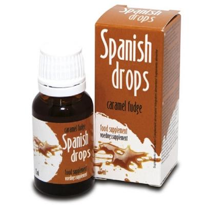 Капли возбуждающие для двоих Spanish Drops Caramel Fudge 15 мл