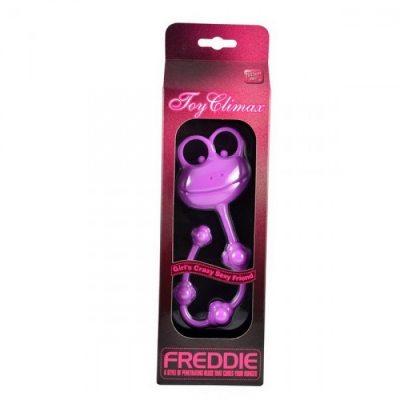 Универсальный силиконовый стимулятор пурпурный Freddie