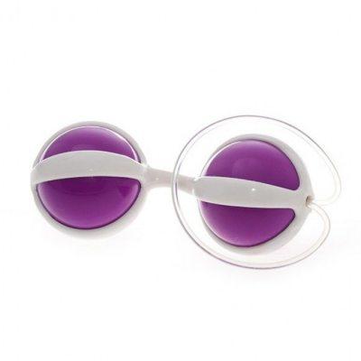 Вагинальные шарики Be Mine Balls фиолетовые