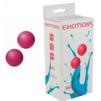 Вагинальные шарики без сцепки Emotions Lexy small, розовые