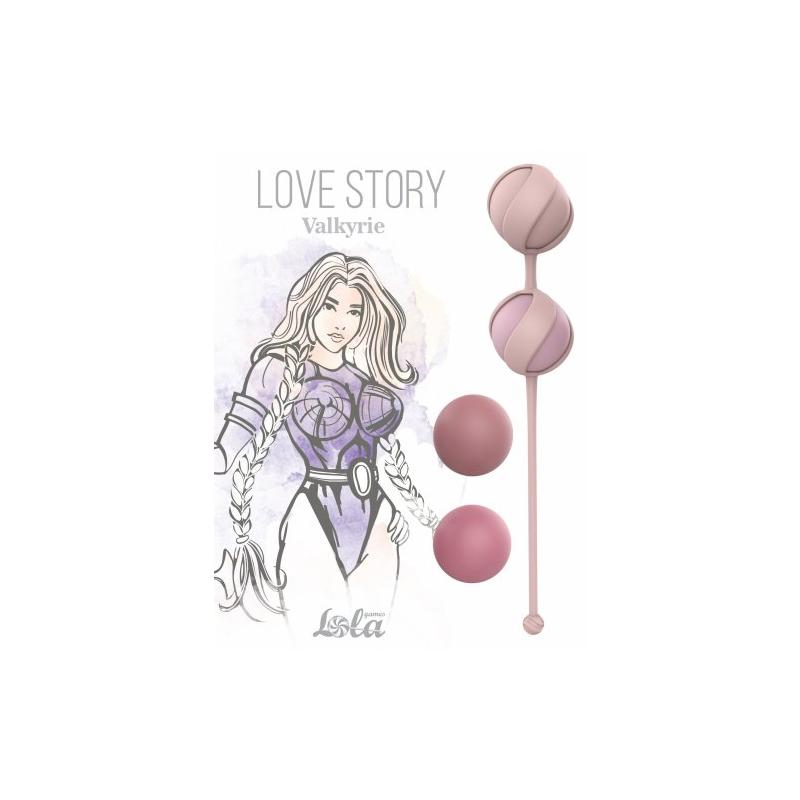 Набор вагинальных шариков Love Story Valkyrie Pink