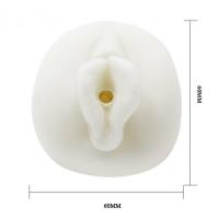 Реалистичный мастурбатор-вагина с виброяйом