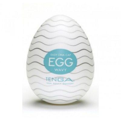 Мастурбатор яйцо Tenga Egg Wavy