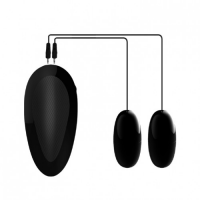 Мастурбатор-попка и вагина c двойным виброяйцом