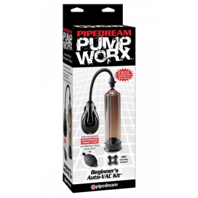 Вакуумная помпа Pump Worx Beginner's Auto VAC Kit универсальная