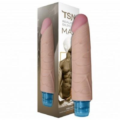 Вибратор реалистичный Max телесный 16 х 3,6 см